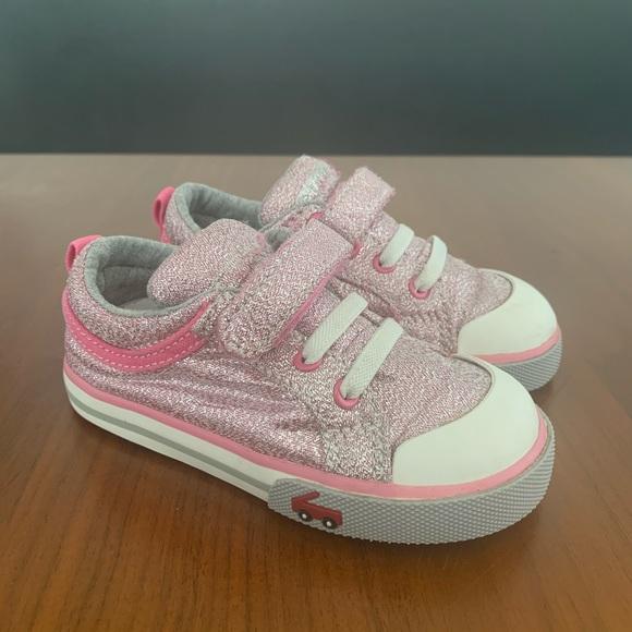Girls Kristin Glitter Sneakers | Poshmark